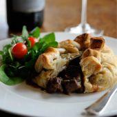 steak and stilton pie